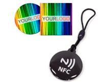 Etiquetas y llaveros NFC